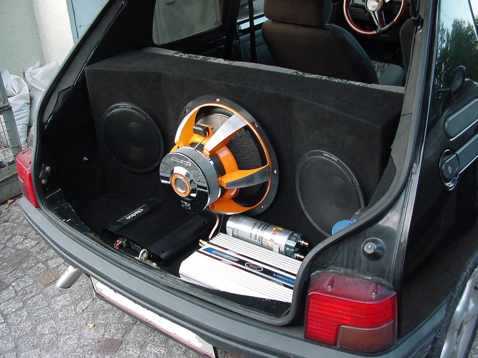 Wspaniały forum.peugeot205.pl • Zobacz wątek - Zabudowa Car Audio 205 FT59